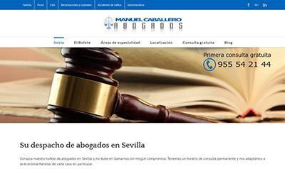 Abogados en Sevilla. Manuel Caballero