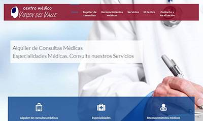 Centro médico Virgen del Valle, reconocimientos y certificados médicos